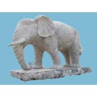 China Granite Elephant OTS-02 Stone Carving Sculpture on sale