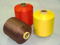 China Polyester Dope-dyed Yarn on sale