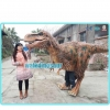 China Dinosaur costume Dinosaur T-rex costumes with Feather for sale