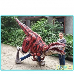 China Dinosaur costume Red Dragon on sale