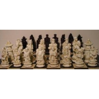 China Character Chess Sets Chinese Chess Pieces (Small) on sale
