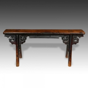 China Seating Bench with Cloud motif on Apron on sale