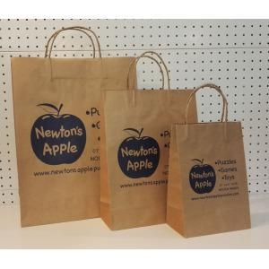 China Brown Paper Grocery Bags Bulk on sale