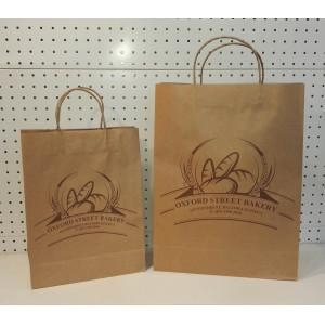 China Brown Paper Carrier Bags on sale