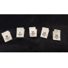 China cotton size tags choose your size & quantity for sale