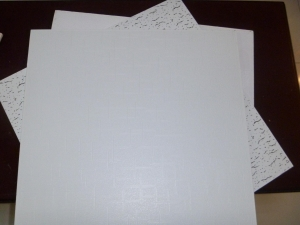China Gypsum Board white pvc gypsum ceiling tiles on sale