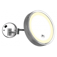 China 4111 extendable LED lighting cosmetic mirror on sale