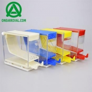 China [OA] press type dental cotton roll dispenser holder on sale