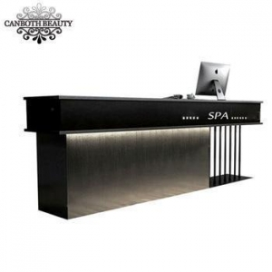 China Loft style shaped salon reception counter desk/ reception table CB-R088 on sale