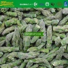 China IQF green asparagus pure tips on sale