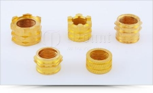 China Brass Inserts for UPVC / PVC Pipe Fittings on sale