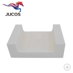 China Shaped Refractories Product  Fused Cast AZS Block on sale