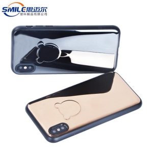 China Case for Iphone stainless steel and TPU with magnet phone case for iPhone X on sale