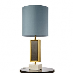 China Blue Bedside Table Lamp on sale