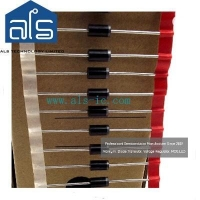 China 1N5822 3.0A 40V DO-27 Schottky barrier rectifiers diodes on sale