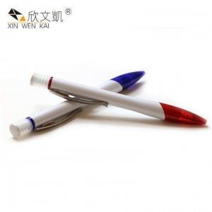 China Plastic Spring Click Ballpoint Pen on sale