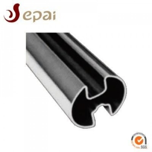 China ASTM A554 Stainless Steel Groove Tube on sale