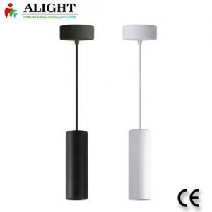 China Integrated LED Pendant Lighting Fixture In White on sale