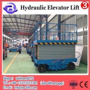 China electric hydraulic scissor car lift ,Stationary scissor lift platform used for sale on sale