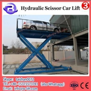 China Portable Scissor Car Lift 2018 High Quality Movable 2 Two Post Hydraulic Car Lift on sale