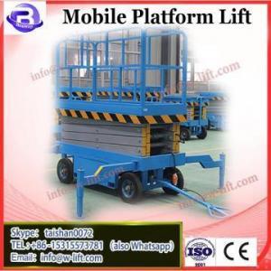 China 7LSJY Shandong SevenLift 10m 300kg mobile scissor portable man platform ladder lift for sale on sale
