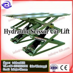 China Portable single pole hydraulic 3.5 ton used scissor car lift for sale on sale