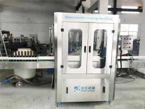 China Automatic Glass Bottle rinsing machine on sale