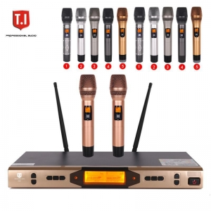 China K-880 Pro UHF Dual Channels Wireless Microphone System on sale