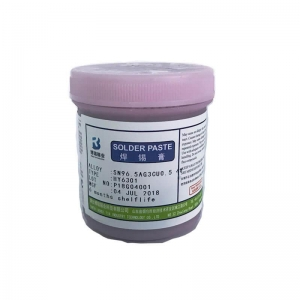 China lead-free soldering paste Sn96.5Ag3Cu0.5 on sale