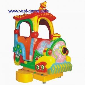 China KYM-0025 Mini Train Double Axle Kiddie Rides Kids Swing Machine on sale