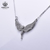 China Hip hop wings necklace, cz necklace for sale