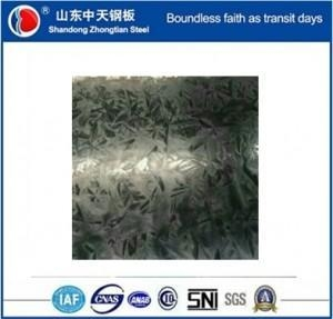 China 750-1250mm galvanized sheets metal regular spangle on sale