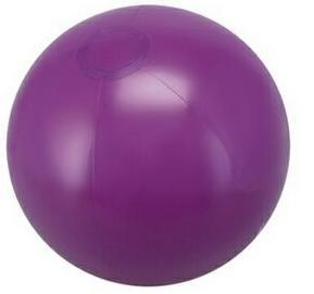 China Inflatable Solid Purple Beach Ball (16) on sale