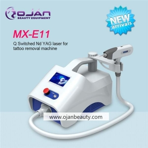 China MX-E11 Color Touch Screen Portable Q Switch ND YAG laser tattoo removal machine on sale