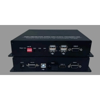 China KVM Extender HDMI + USB 2.0 and Audio over Fiber  Sender and Receiver on sale
