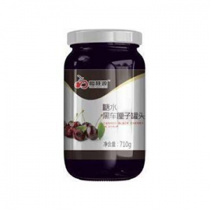 China Black Cherry in Syrup on sale