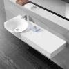 China Wash Basins Acrylic Stone Countertop With Sink KKR-1543 on sale
