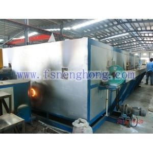 China Simple Type Aluminum Billet Heating Furnace With Hot Shear on sale