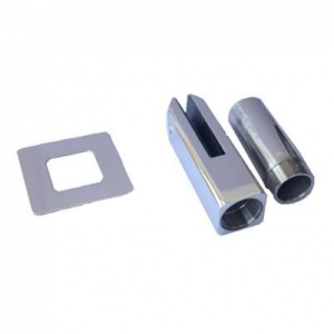 China Polishing Stainless Steel Balustrade Glass Clamp,Glass Clip,Glass Railing Clamp on sale