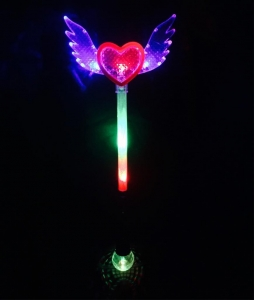 China LED Angel Wand with Disco Ball - Multicolor on sale
