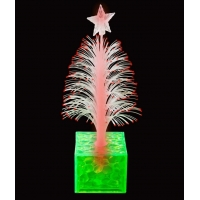 China LED 6.5 Inch Christmas Tree Centerpiece - Green on sale
