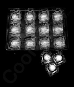 China LED Light Up Ice Cubes - White on sale