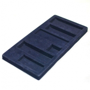 China Flocking Blister Plastic Tray on sale