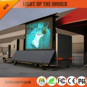 China P10 high brightness truck led display on sale