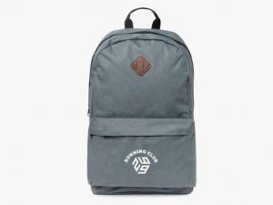China Polyester laptop backpacks 15 with lash tab and front pocket on sale