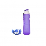 FDA-approved Foldable Silicone Water Bottle For Outdoors