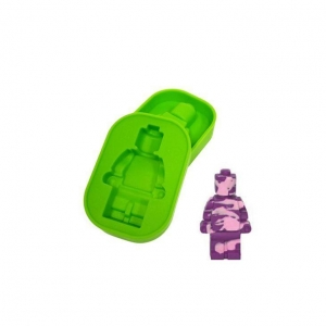 China Robot Pattern Silicone Cake Mold Freeze Ice Tray on sale