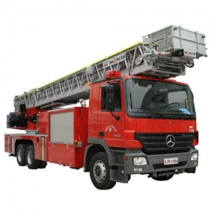 China MLFL6-50REX53m Intelligent Straight Arm Aerial Ladder Truck with Telescopic Water Pipe on sale