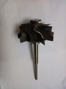 China GT2056S 434715-0055 Turbocharger Components Turbo Shaft And Wheel 6.3mm Tip Height on sale