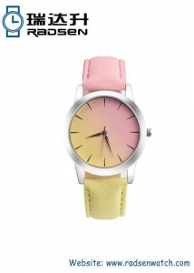 China Two Color Band Cheap Watch For Unisex on sale